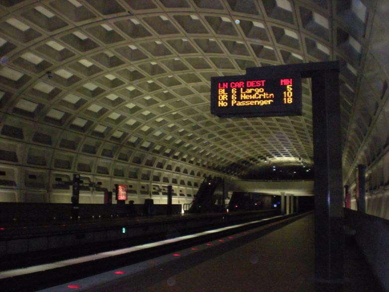 Free Stock Photo of DC Metro Created by John C. Thomas