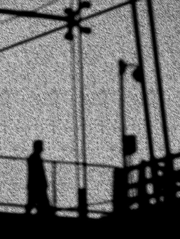 Walking man silhouette - Free Urban Stock Photos