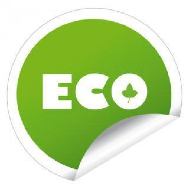 eco sticker label vector Free Photo