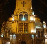 Free Photo - Varna cathedral at night