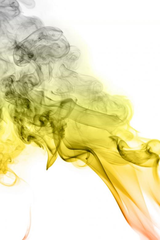 Free Stock Photo of Yellow Smoke Background Created by 2happy