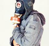 Free Photo - Man with gas mask