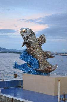 Coelacanth Sculpture - Free Stock Photo