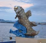 Free Photo - Coelacanth Sculpture