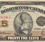 Free Photo - Vintage Banknote - Dominion of Canada