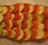 Free Photo - Tomatoes and zucchini dish in preparatio
