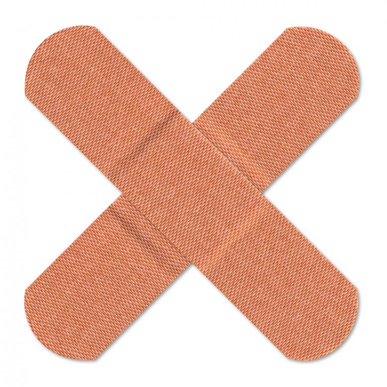 Free Stock Photo of Cross Bandages Created by Nicolas Raymond
