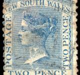 Free Photo - Blue Queen Victoria Stamp