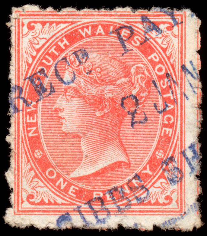 Free Stock Photo of Red Queen Victoria Stamp Created by Nicolas Raymond
