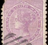 Free Photo - Violet Queen Victoria Stamp