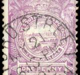 Free Photo - Violet View of Sydney Stamp