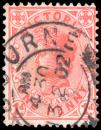 Free Photo - Pink Queen Victoria Stamp