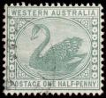 Free Photo - Green Swan Stamp