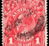Free Photo - Red King George V Stamp