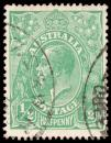Free Photo - Green King George V Stamp