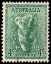 Free Photo - Green Koala Stamp