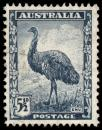 Free Photo - Blue Emu Stamp