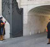 Free Photo - Swiss guards at the Vatican