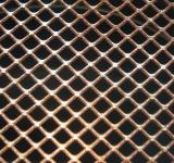 Free Photo - Rusted metal grid texture