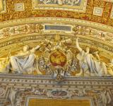 Free Photo - Vatican museum ceiling
