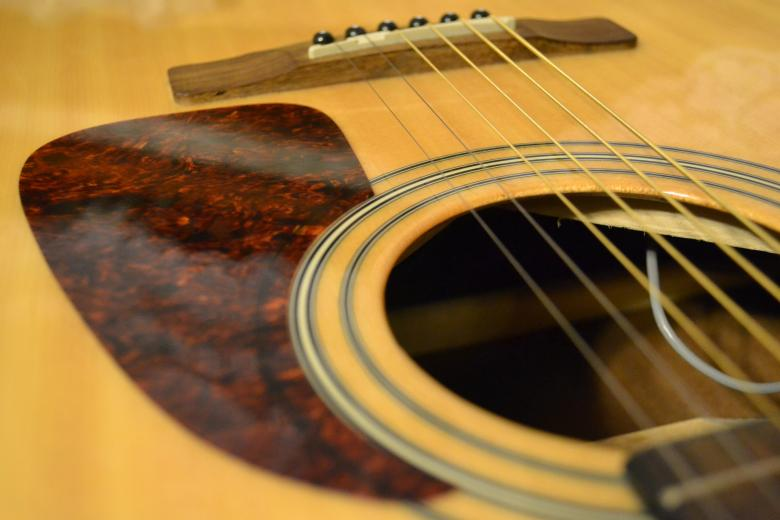 Free Stock Photo of Acoustic guitar pickup Created by Janis Urtans