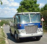 Free Photo - Blue touristic bus