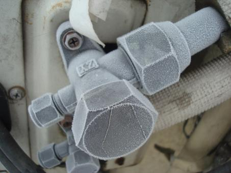 Frosted valve - Free Stock Photo
