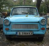 Free Photo - Old blue trabant