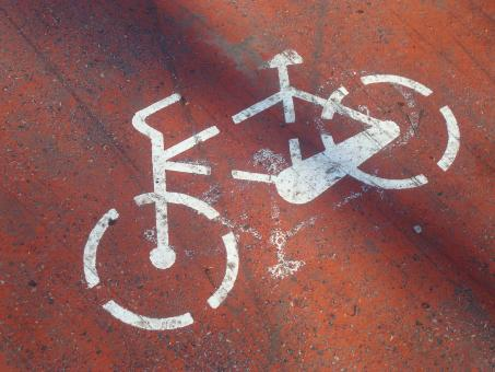 Bicycle line - Free Stock Photo