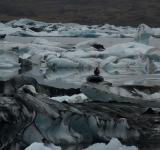 Free Photo - Icebergs in glacier lake