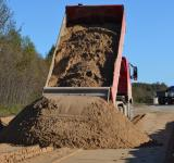 Free Photo - Sand pile and truck