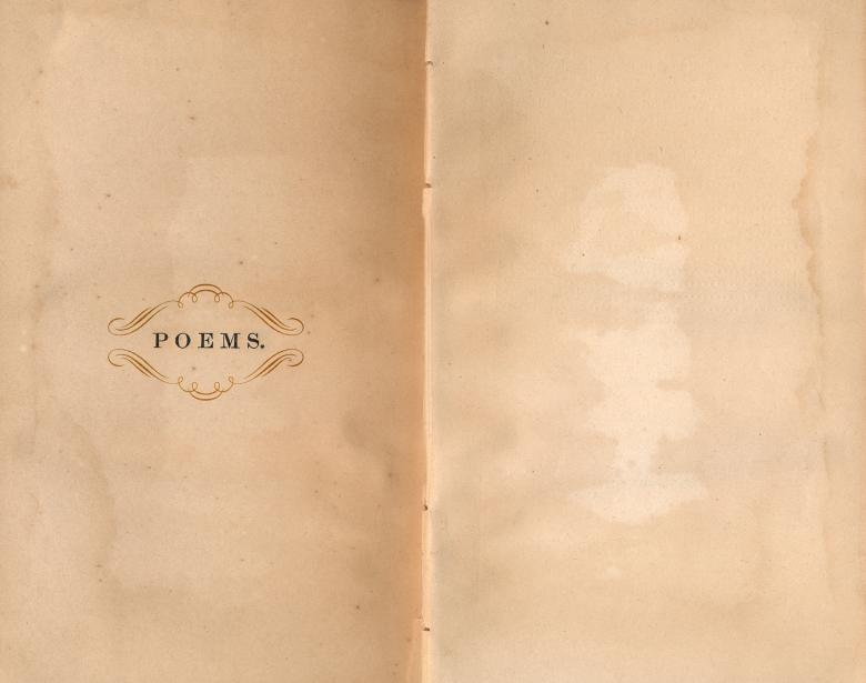 Free Stock Photo of Antique Poems Paper Template Created by Nicolas Raymond
