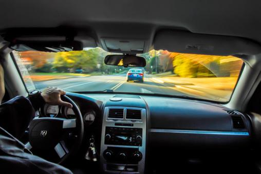 Drivers view - Free Stock Photo