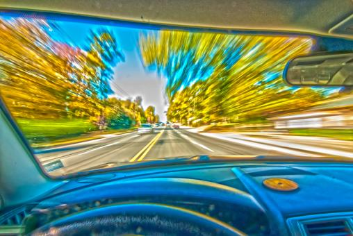 Fast driving - Free Stock Photo
