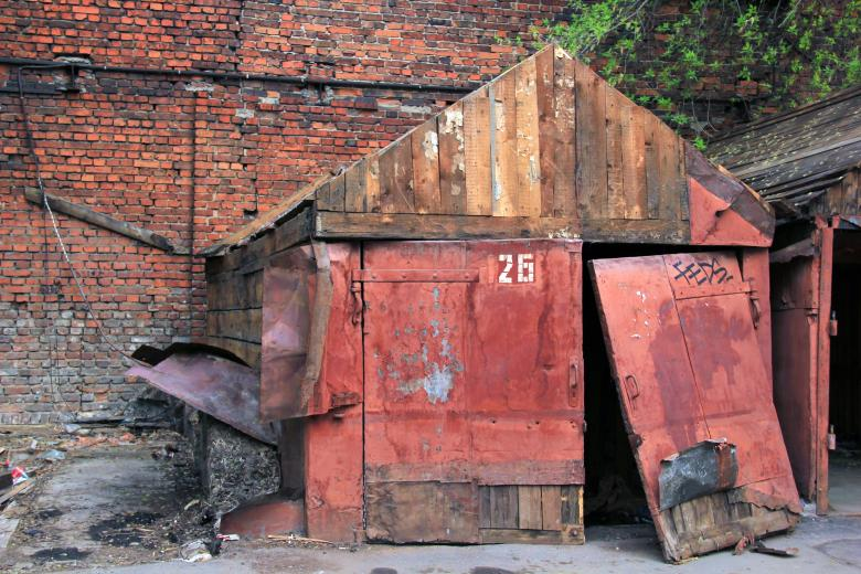 Free Stock Photo of Old Garage Created by Alsusha