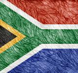 Free Photo - Grunge Threaded Flag - South Africa