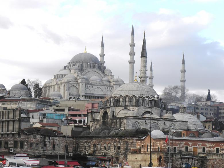 Free Stock Photo of  Suleymaniye Mosque  a face of Istanbul  Created by Yuliy Ganev