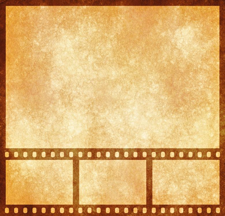 Free Stock Photo of Film Strip Grunge Template Created by Nicolas Raymond