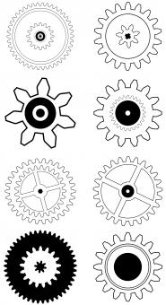 Gear Icons - Free Stock Photo