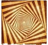 Free Photo - Spiral Tunnel Grunge - Sepia