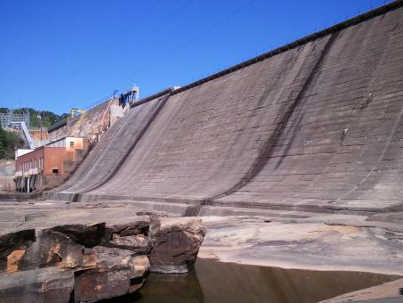 Electric Power Dam - Free Stock Photo