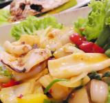 Free Photo - Spicy Seafood Salad