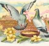 Free Photo - Antique Easter Greeting Card