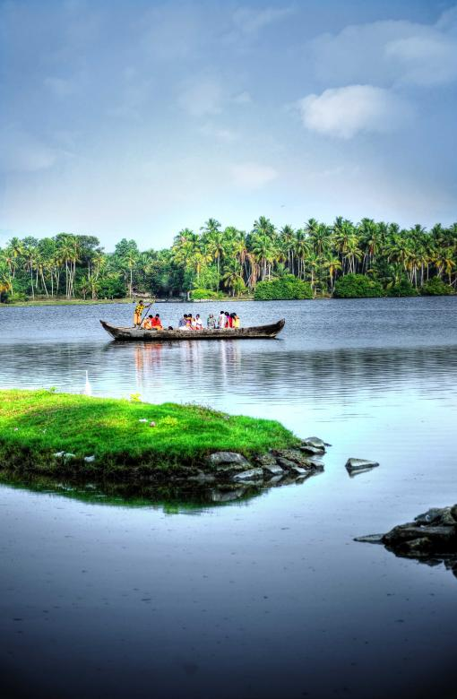 Free Stock Photo of Back water in Kerala Created by DEEPU DAS