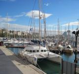 Free Photo - Yacht marina in Barcelona, Spain