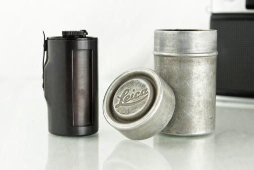 Vintage Film Canister - Free Stock Photo