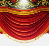 Free Photo - Red stage curtain