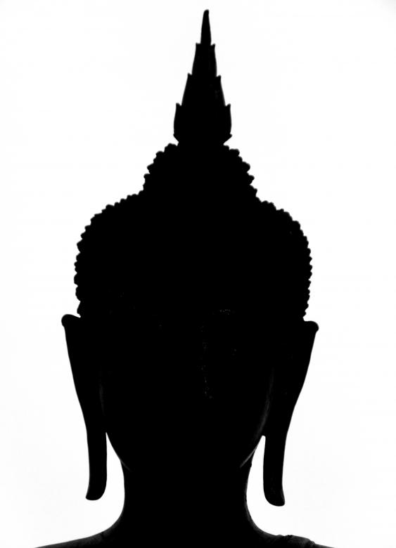 Free Stock Photo of Buddha Silhouette Created by Ivan