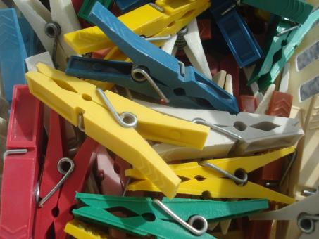 Clothes pegs - Free Stock Photo