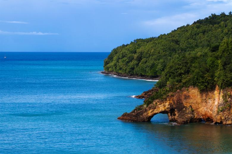 Free stock image of St. Lucia Coast created by Geoffrey Whiteway